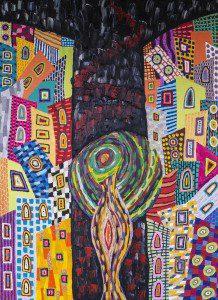 Mixed media on canvas, 120x90cm, 2015