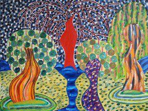 Oil on canvas, 90x120cm, 2014